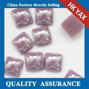 China F0409 hot fix stone,ceramic pearl,hotfix appliques on sale