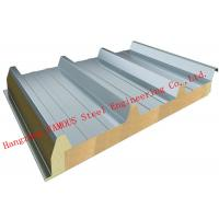 Wholesale Recycled Usage Fire Resistant Rock Wool Sandwich Panels Easy Installation Roof Systems from china suppliers