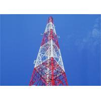 China High Wind Speed Angle Steel Tower , Customized Height Electric Transmission Tower on sale
