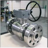 Wholesale WCB Full Bore Ball Valve 900lb 1500lb Lf2 Body Nylon R-Ppfe Seat Gear Operate from china suppliers