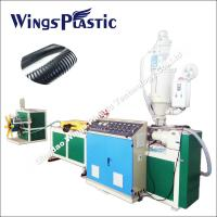 Wholesale Propene Polymer PP Materials Corrugated Flexible Pipe Machine Manufactuerer from china suppliers