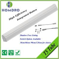 China High efficiency LED T5 tube lighting with SMD chip integrated batten,CE & RoHS compliance on sale