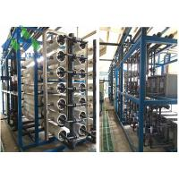 Wholesale Island Use Middle / Large Scale Marine Reverse Osmosis Water Maker For Fresh Water from china suppliers