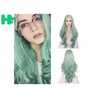 Wholesale Fashion Multi Color Synthetic Cosplay Wigs , Long Curly Wave Hair Wigs from china suppliers