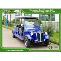 Wholesale Energy Saving Classic Golf Carts With 3 Row Blue Color Vintage Type from china suppliers