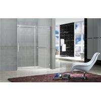 Wholesale Clear Tempered Frameless Sliding Glass Doors / Shower Stall Enclosures CCC Certification from china suppliers