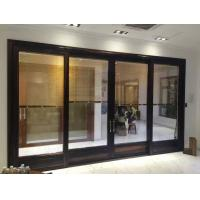 Wholesale Thermal Break Outdoor Folding Balcony Sliding Door Anodised Move Three Track from china suppliers
