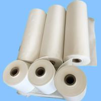 Wholesale Raw White Polyester Industrial Liner Fabric For Rubber Industry / Conveyor Belt from china suppliers