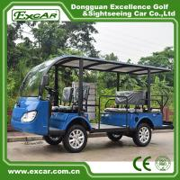 Wholesale G1S8 Disabled Electric Sightseeing Bus With USA Curties Controller 300A from china suppliers