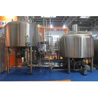 Wholesale Stainless Steel 316 Turnkey Beer Brewing System Hand Or Automatic Control from china suppliers