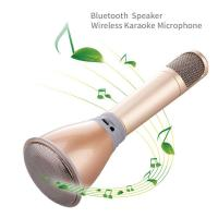 Wholesale mini microphone K068 with high quality Mini Karaoke Player KTV Singing Record for Iphone from china suppliers