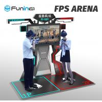 Wholesale Funin VR FPS Arena Music Game standing vr virtual reality 9d vr gun game machine shooting game from china suppliers