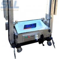 China Easy Operation Cement Mortar Plastering Machine Render Up To750 M2/8h on sale