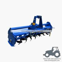 China Tractor mounted Rotary Tiller gear driven TMZ model on sale