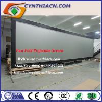 Wholesale Cynthia Screen Fast fold Projector Screen 3D Frame Portable Projector Screen Stage Screens from china suppliers