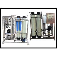 China CE Approved Mineral Water RO Plant With FRP Automatic Sand And Carbon Filter on sale