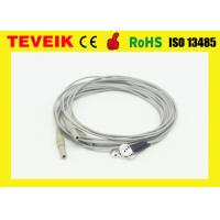 China High Quality pure silver EEG cable electrodes for EEG machine, DIN1.5 socket eeg cable on sale