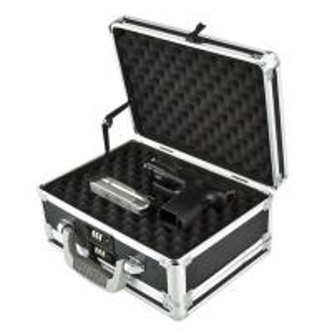 China Custom Size Aluminum Hard Case Gun Storage Box With Combination Lock on sale