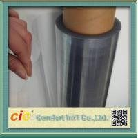 Wholesale Transparent 100 PVC Self Adhesive Film , Cold Lamination PVC Decorative Film from china suppliers