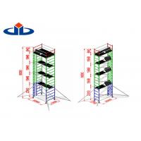 Wholesale Alloy Aluminium Mobile Tower Scaffold Lightweight Scaffold Tower Platform 272kg Load Capacity from china suppliers