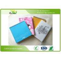 Buy cheap Art Paper Film Lamination School Spiral Bound Notebook Custom Different Sizes product