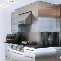Range Hood Simple Stainless Steel Kitchen Cupboards