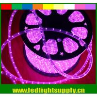 Wholesale solar powered led flexible rope lights 2 wire 12/24v multi color duralights from china suppliers