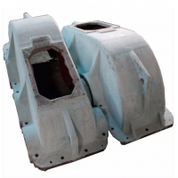 Wholesale Cast Iron Mining Equipment Spare Parts Deceleration Machine Enclosure from china suppliers