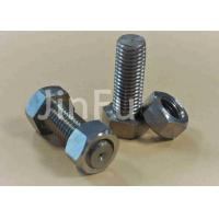 Wholesale M24 Big Titanium Hex Head Bolts Plain Color Inch Thread Used On Ships from china suppliers