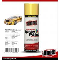 Buy cheap AEROPAK Metallic spray paint, all purpose auto acrylic resin paint from wholesalers