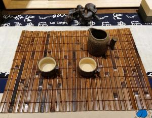 Wholesale Eco Friendly 45x30cm 5mm Thick Woven Bamboo Placemats from china suppliers