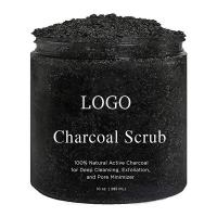 Wholesale Reduce Pores Bamboo Charcoal Body Scrub , Dead Sea Salt Body Scrub Detoxification from china suppliers