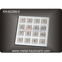 Wholesale 4 X 4 Matrix Door Access Keypad with Rugged Stainless Steel Material from china suppliers