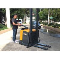 Wholesale 2t 6.5m AC Motor High Racks Electric Pallet Stacker With Side Way Battery from china suppliers