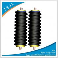Wholesale Spiral rubber rollers for belt conveyor from china suppliers
