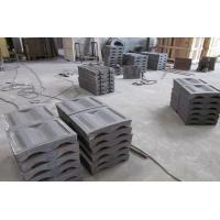 Ball Mill Lining Hole Size Check for High Cr Mill Liners Hardness More than HRC55