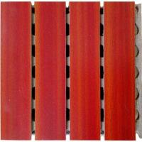 Wholesale Auditorium Wooden Grooved Acoustic Panel For Home , Architectural Design from china suppliers