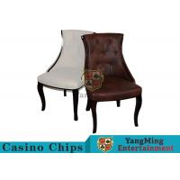Quality Waterproof Leather Casino Gaming Chairs With Various Colors / Patterns To Choose for sale