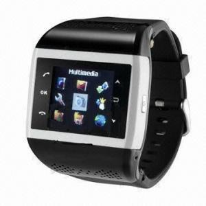 China 1.4-inch TFT Wristwatch Phone, Supports MP3/WAV/3GP/MP4/JPEG/GIF on sale