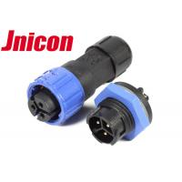 Buy cheap Push Locking IP67 Waterproof Connector , PA66 M16 3 Pin IP67 Connector from wholesalers