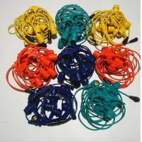 China 30ft Outdoor Edison Light Bulb String Lights 10 Hanging Sockets  3 Years Warranty on sale