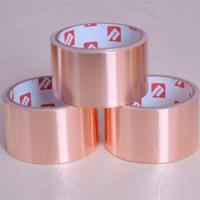Wholesale Manufacturer die cutting thermal conductive copper foil tape for electric EMI from china suppliers