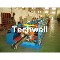 Wholesale 2.0-3.0mm Heavy Duty Upright Racking / Shelf Roll Forming Machine With JH21-80 Ton Press Machine To Punch Holes from china suppliers