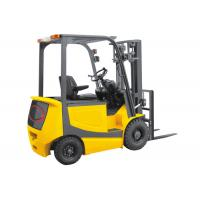Wholesale Yellow Industrial Lift Truck , Battery Powered Forklift With Two Lifting Cylinder from china suppliers
