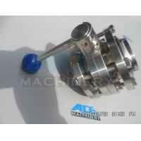 Wholesale Stainless Steel Manual Threaded Butterfly Valve (ACE-DF-2C) from china suppliers