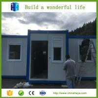 Wholesale HEYA hot sale eps or rockwool panel container camp house prefab house from china suppliers