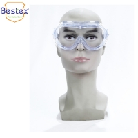 Buy cheap PVC 6.8mm Fogproof Eye Safety Glasses With Side Shields from wholesalers