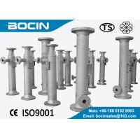 SK stainless steel static mixer for solid-liquid mixing , liquid mixer Manufactures