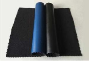 Wholesale Anti Static PU ESD Conductive elastic leather 0.8mm Thickness from china suppliers