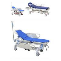 China Adjustable Patient Transfer Trolley , Emergency Stretcher Trolley Or Hospital Use on sale